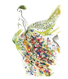#floral #fashion #illustration