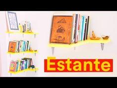 DIY - ESTANTE DE LIVROS | Reforma de Kitnet - YouTube