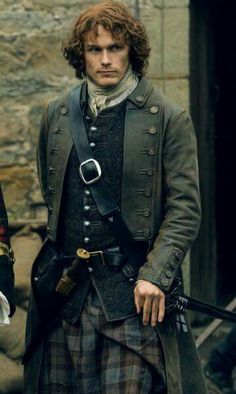 Buy Outlander Season 05 Sam Heughan Jamie Fraser Trench Coat at very discounted price. James Fraser Outlander, Sam Heughan Outlander, Outlander Season 1, Outlander Tv Series, Outlander Quotes, Outlander Casting, Cary Grant, Carole Lombard, Cillian Murphy