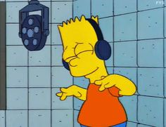 Trending GIF music the simpsons bart simpson headphones jamming feeling it Simpsons Meme, The Simpsons, Simpsons Characters, Hipster Vintage, Style Hipster, Simpsons Springfield, Los Simsons, Rick E, S Bahn