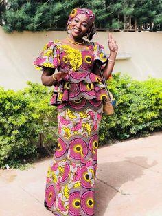 peplum ankara skirt and blouse: check out 25 stylish peplum ankara skirt and blouse styles to Rock African Wear Dresses, African Fashion Ankara, Latest African Fashion Dresses, African Print Fashion, African Attire, African Style, Ankara Rock, Ankara Stil, Ankara Skirt And Blouse