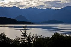 Lake Manapouri, see more, learn more, at New Zealand Journeys app for iPad www.gopix.co.nz