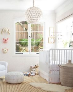 Love this girl nursery - it's sweet without too much pink! All these ideas from Serena & Lily are so good! Girl Nursery, Nursery Decor, Nursery Ideas, Bedroom Decor, Nursery Room, Girl Room, Boho Nursery, Nursery Inspiration, Nursery Design