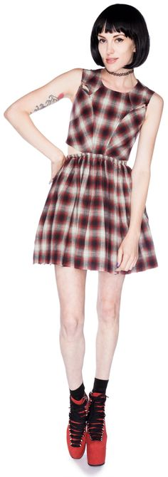 Kick flip UNIF  dress of dreams... wanna wear chunky heels and knee high socks with this baby