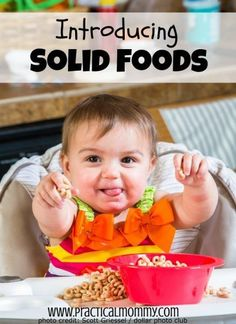 Introducing Solid Foods (Parenting Lounge #4)