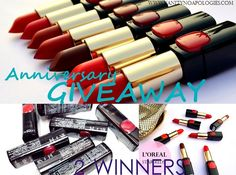 Participate and Win Makeup: VNA Anniversary Giveaway Oh boy! Ever since I shared a teaser of the prizes I recently got for you guys, I have been getting so