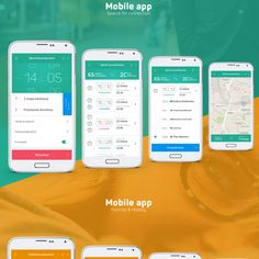 Visual idenity & Site & Dedicated android app - RTM on Behance