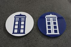 Doctor Who Inspired Coaster