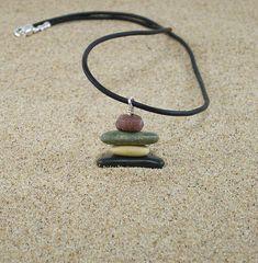 Inukshuk Lake Michigan Beach Stone Pebble Inuksuk Style Cairn