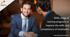 Ripples Learning offers a wide range of training programs aimed at improving the skills and competency of future leaders. Some of our flagship training program are Train the Trainer, Business Communication, Time Management, Goal Setting, and more. #CorporateTraining #SoftSkillsTraining #TraintheTrainer