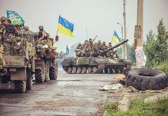 Ukrainian VDV forces.