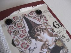 Witch Collage Card  Blank all occasion by FangtasticCards on Etsy, $4.99