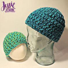 Crochet Unisex Beanie   AllFreeCrochet.com