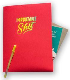 """Important Shit"" folder"