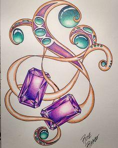 #gemaholic #coloracreation #gemaddict #gemstones #vitruvianart #volume2 #gemstone #gem #jewelerydesigner #amethyst #artforlife #art_publicity #coloringforgrownups #coloringgemstones #artistsoninstagram #artistuniversity #art_publicity #art