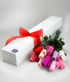 Gift idea: As a joke, make a flower bouquete of panties and give to a friend :)