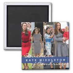 Kate Middleton Prince George Magnet - More Fun Gifts at - http://www.zazzle.com/cdandc  #queen #katemiddleton #Royal #royalfamily #british #kate