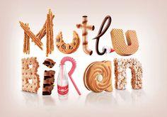 3D-типографика для вашего вдохновения