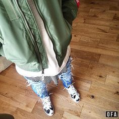 @outfitfromabove @kersxaw alphaindustries - hm - pageslondon - commedesgarcons