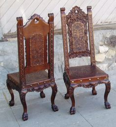 I found this example of a Renaissance chair by simply typing it in to google search. I thought this displayed the Renaissance era due to the antique look of the chair and also because of the carved design in the chair giving it that 'old time' look to it.