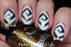 Dance Legend Mystery Collection Chrome flakies ~ More Nail Polish