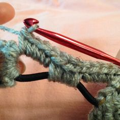 The Shtick I Do!: My Tip for Using Elastic on a Headband/Ear Warmer Tutorial