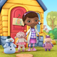 Doc McStuffins: Ella's pick for Halloween this year! Going to be easy to make!  Yea!