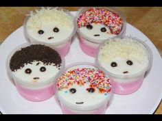 Pudding Desserts, Pudding Recipes, Cake Recipes, Snack Recipes, Snacks, Puding Oreo, Flan, Resep Cake, Indonesian Food