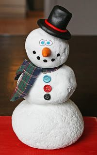 Tools Are For Women Too!: How To Build A Snowman Out Of Rocks - By Stacy