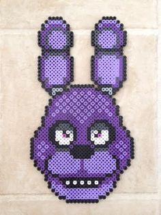 Bonnie Perler Bead Sprite by PrettyPixelations on Etsy