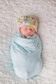 Newborn Hat preemie hat first baby hat nicu hat by UniqueKidz