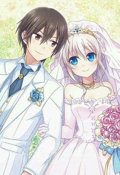 ❤Charlotte - Otosaka Yuu and Tomori Nao || Wedding ||❤