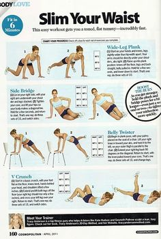 Waist slimming workout