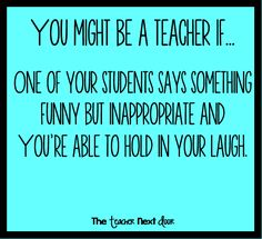 No one knows exactly what it's like to be a teacher except a real teacher! Our time spent in the classroom is definitely important but not easy by any means. After dealing with paperwork, the pressures of standardized testing, jammed copy machines, and mo Teacher Appreciation Quotes, Teacher Humour, Real Teacher, Teacher Tips, Teacher Stuff, Teaching Memes, Teaching Ideas, Education Humor, Primary Education