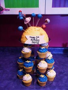 planets birthday cake - Google Search