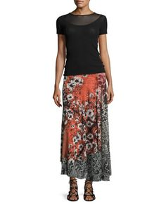 Top+&+Skirt+by+Fuzzi+at+Neiman+Marcus.