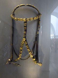 Gold Viking bridle