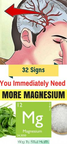 32 Signs You Immediately Need More Magnesium, And How To Get It 32 Signs You Immediately Need More Magnesium, And How To Get It #32SignsYouImmediatelyNeedMoreMagnesiumAndHowToGetIt