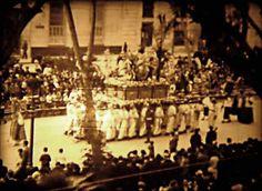 Holy Week Malaga. Cofradia de La Pollinica Malaga 1930