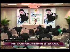 Belén con ayuda psicológica y Raphael se quiebra por muerte de Estela Rabal