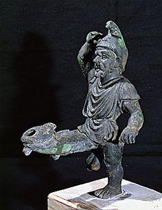 Funny Erotic Oil Lamp found in ancient Pompeii