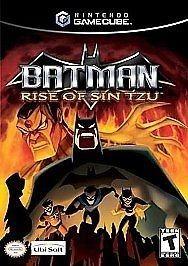 Batman: Rise of Sin Tzu for GameCube @ www.thegamingwarehouse.com/batman-rise-of-sin-tzu-for-gamecube-used/
