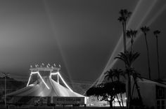 """""""Circo Hermanos Caballero"""" all set up at Earl Warren Showgrounds!  Send in by Alex Ramos."""