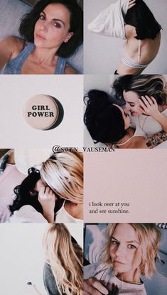 Regina And Emma, Queens Wallpaper, Ouat Cast, Swan Queen, Outlaw Queen, Emma Swan, Once Upon A Time, Girl Power, Sexy Women