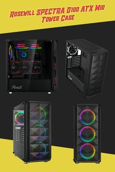 Computers / Computer Components / Computer Parts / Computer Hardware / Computer Cases / Rosewill / Rosewill Cases / Gaming / Gaming PC Computer Case, Gaming Computer, Tower Games, Cooler Master, Pc Cases, Computer Hardware, Cable Management, Steel Mesh, Radiators