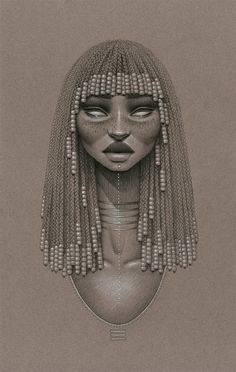 love beauty art vintage passion african american black women black art Goddess native afro natural hair twist out Cleopatra black love paintings braid out african art afrocentrism Sarah Golish Black Girl Art, Black Women Art, Black Art, Art Girl, Bb Beauty, Beauty Art, Natural Hair Art, Natural Hair Styles, Afrique Art