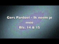 Gers Pardoel - Ik neem je mee(Instrumental) - YouTube lied begin schooljaar met aangepaste tekst