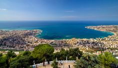 Lebanon is a beautiful, mountainous country on the Mediterranean Sea ...THIS IS A PERFECT BAY