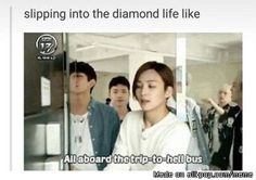 Basically me with every group I started stanning  