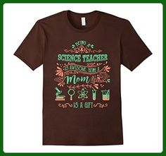 Mens Science Teacher Shirt - Science Teacher Mom T shirt XL Brown - Math science and geek shirts (*Amazon Partner-Link)